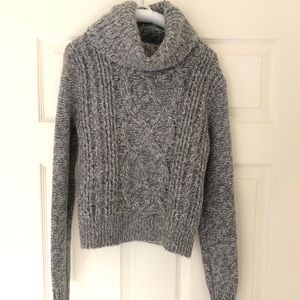 Express thick cowl neck sweater